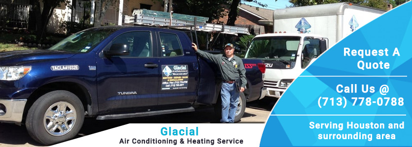 Glacial Air Conditioning and Heating Services Banner